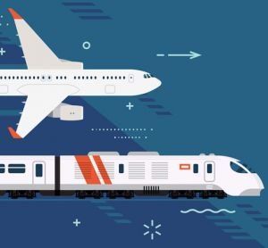 train vs plane is rail the more appealing option?