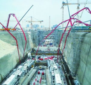 The construction and tunnelling of Doha's Green Line