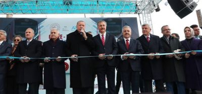 Turkey's commuter line between Gebze-Halkalı is officially opened