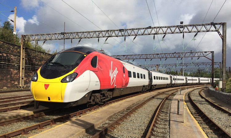 Virgin trains to be fully equipped with free Wi-Fi and entertainment