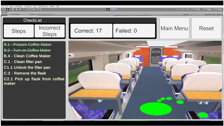 virtual reality could help train the future employees of Virgin Trains