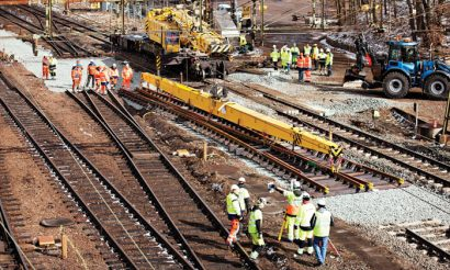 New investment highs in existing Swedish rail infrastructure